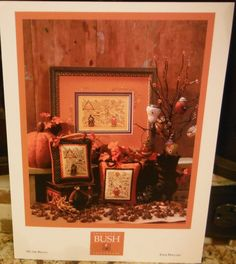 On The HAUNT Cross Stitch Leaflet SB225 by CraftyCrossStitches, $5.00