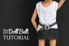 Liberty Jane, Bernina, and the We All Sew Blog are excited to give you a fun, easy, and best of all FREE Doll Belt Tutorial. Download the PDF today!