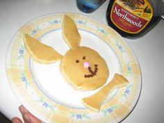 bunny pancakes!