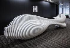 HWCD's Sculptural Office Furniture