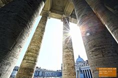 The Sun Shines on Vatican City Rome Italy