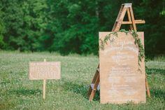 Paige Jones Photography - Farm Wedding Program