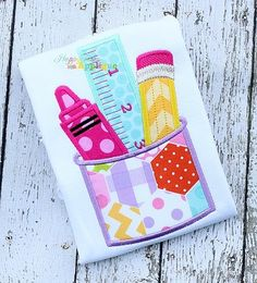 Monster Applique Design Happy Town applique Sewing is fun to