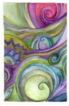 Colors and swirls