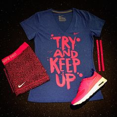 Can you keep up? #Nike #GymOutfit Photo: Finish Line Greenwood