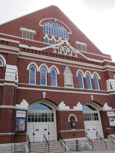 Ryman Auditorium - Nashville, TN (Former home of the Grand Ole Opry)