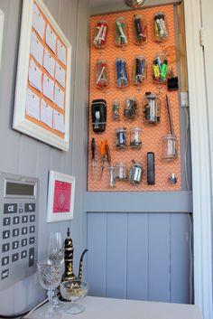 Creative DIYers Club How To Make A Pegboard Organizer