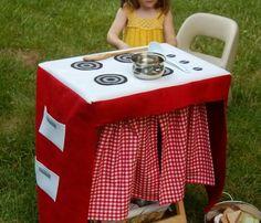 Travel play kitchen