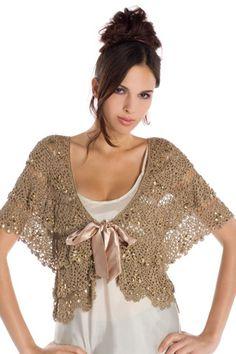 19 Crochet Boleros - Inspiration
