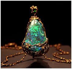 Blue Opal in the Smithsonian