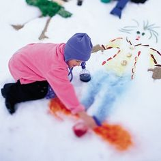 Snow Mosaic- pinned by @PediaStaff – Please Visit  ht.ly/63sNt for all our pediatric therapy pins