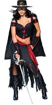 Disfraces Originales: Disfraz Zorro Mujer
