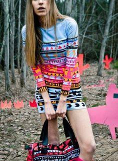 We still LOVE tribal print.