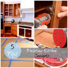 5 tips when painting your kitchen cabinets