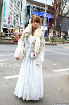 harajuku fashion with crochet