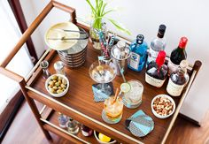 Stock up on these home bar essentials for your next party.