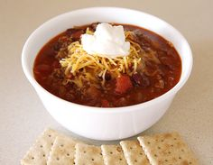 Mama.Mommy.Mom.: Getting Comfortable with Chunky Chili Beans #SundaySupper