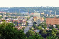 Cincinnati - view from Fairview Park to Price Hill