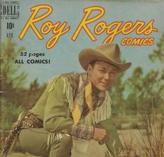 Roy Rogers Comics  1950 vintage comic book by Mylittlethriftstore, $25.00