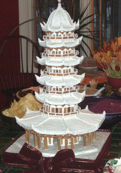 Gingerbread house - pagoda