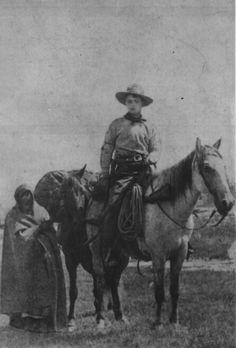 Frank E. Webner, pony express rider. ca 1861.  National Archives