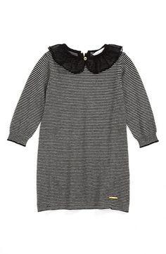 LITTLE MARC JACOBS Long Sleeve Dress (Baby Girls)