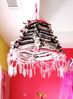 Childrens Cloth Chandelier  this item is a great by MadnessMomma, $35.00