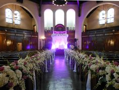 Wedding Sanctuary at Temple Israel