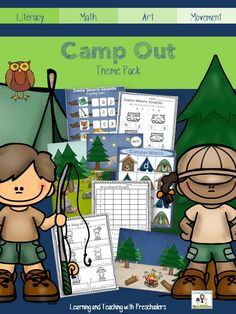 Let's going camping!  Turn your classroom into the next camp out with Smores and all.