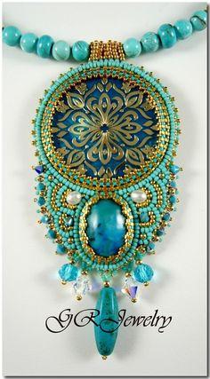 LiaReed - Golden turquoise