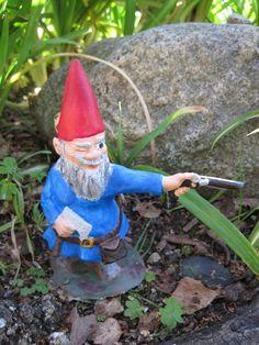 Zombie Gnomes Wyrick by ChrisandJanesPlace on Etsy, $21.00