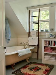 sweet cottage bath