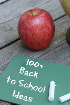 Over 100 ideas to make going back to school easier and more fun