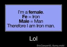 I am Iron Man!!