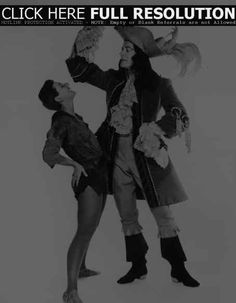 """Mary Martin and Cyril Ritchard in """"Peter Pan"""" ,  1951 - 454 x 584"""