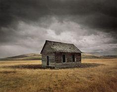 Big Hole Montana lone hous, landscap, big hole, art photographi, abandon hous, abandon place, abandoned houses, farm houses, michael eastman
