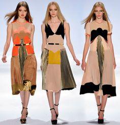 jill stuart dresses from a/w 2011 fashion week. fashion weeks, color, jil sander, dresses, stuart fall, runway, 2011, style fashion, jill stuart