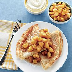 Apple Crepes | Coast
