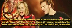 Jena and Sam on josh and jen's relationship