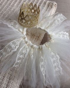 Princess Tutu and Crown! Perfect for birthdays, pictures, dress up, a baby shower gift, or just because!