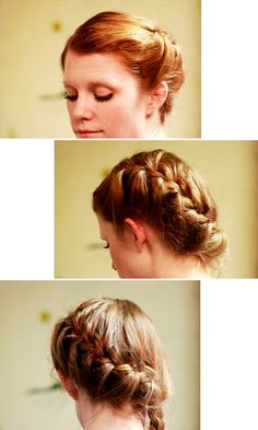 Katniss inspired Dutch braid hairstyle french braids, beauti idea, the ...