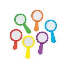Colorful Magnifying Glasses - OrientalTrading.com