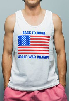 I would wear this on 4th of july annually!