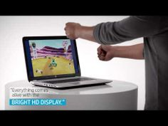 HP envy 17: the first leap motion controlled laptop - designboom   architecture & design magazine