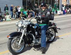 Our one and only Ed Hale- Eds Posse Kansas City St. Patrick s Day Parade 2014