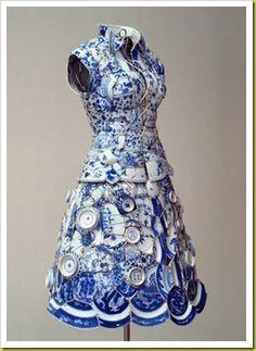 amazing ceramic dress.