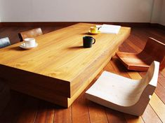 Japanese furniture model design. Must have one of this when I have my own Home!