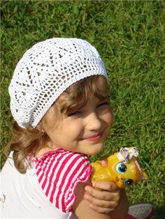 Snow beret, crochet patterns