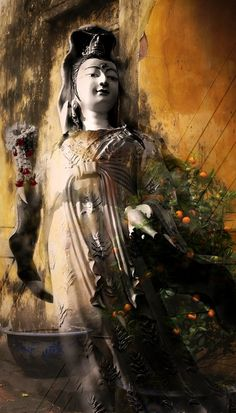 """Chant """"Namo Guan Shi Yin Pusa"""" to cultivate the same compassion embodied by Guanyin Bodhisattva."""