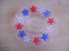 Fourth of July trays/activities